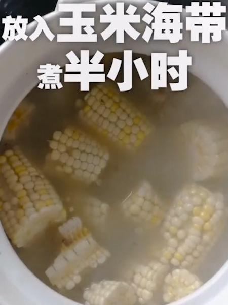 棒骨玉米汤怎么吃