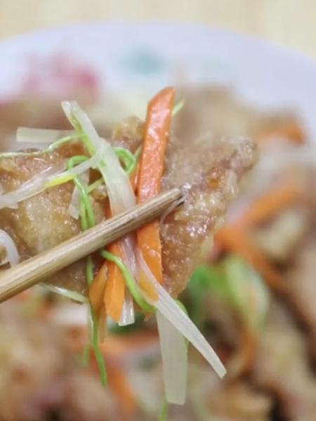 锅包肉成品图