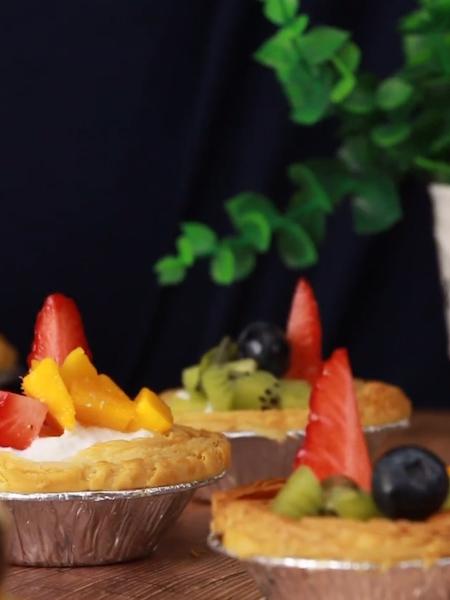水果蛋挞成品图