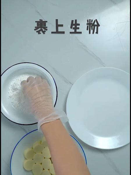 脆皮日本豆腐的做法图解