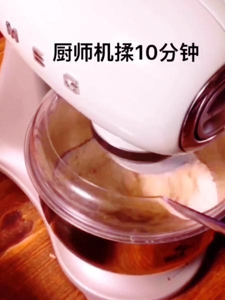 南瓜红豆面包的家常做法