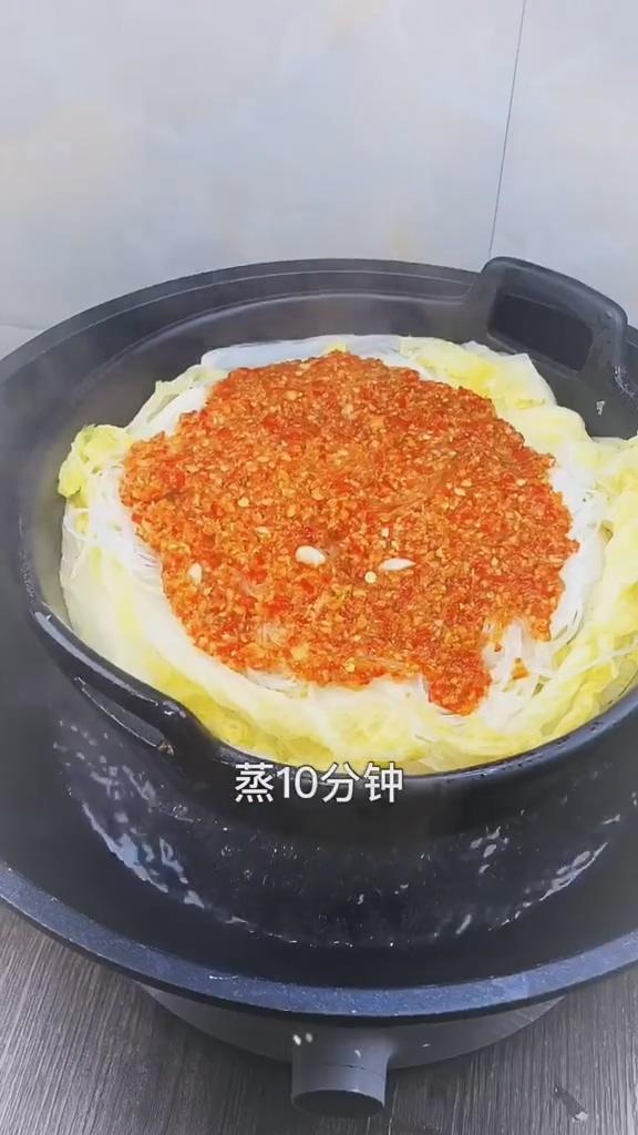 蒜蓉粉丝娃娃菜的简单做法