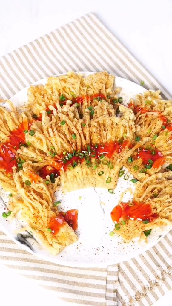 香酥金针菇成品图