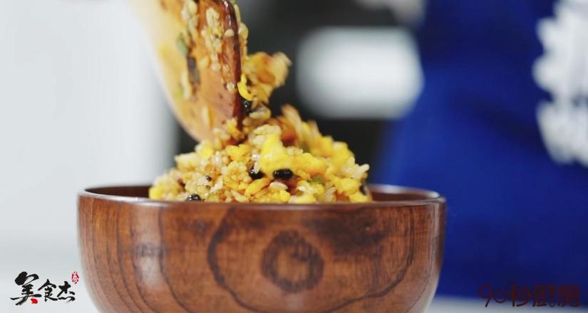 豆豉炒饭成品图