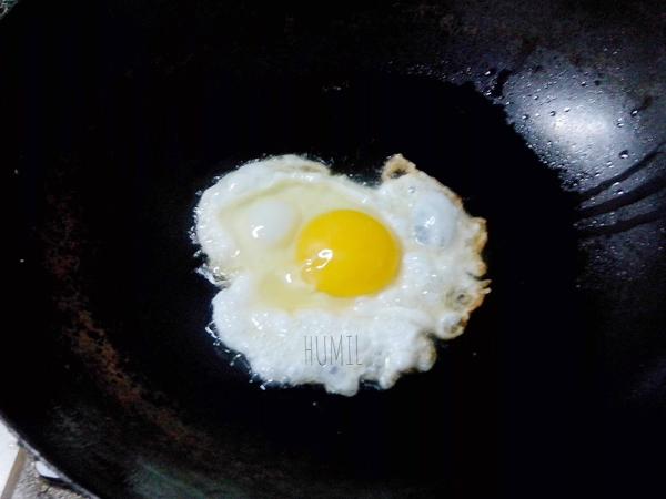 照烧肉片鸡蛋汤面#夜宵#怎么吃