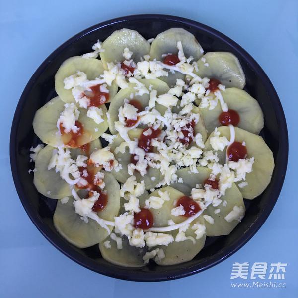 火腿芝士烤土豆片怎么吃