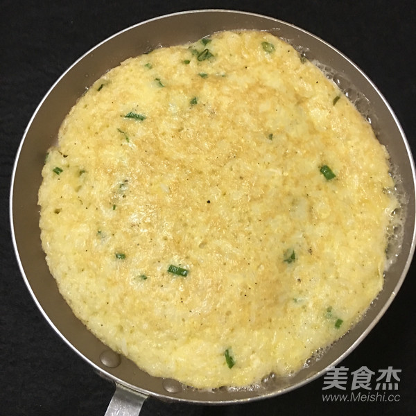 米饭鸡蛋饼怎么炒