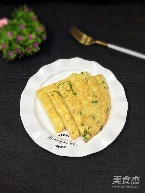 米饭鸡蛋饼怎么煮