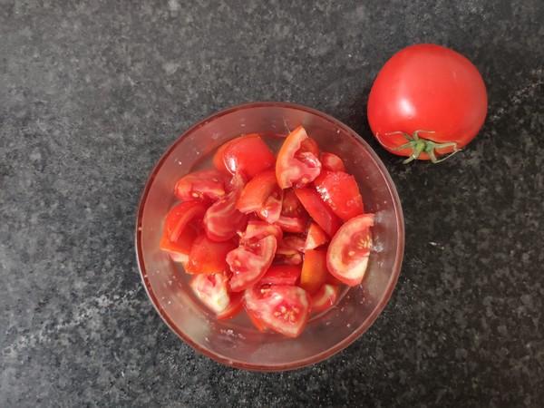 凉拌西红柿成品图