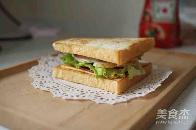 早餐三明治怎么煮