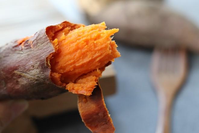 快速烤红薯成品图