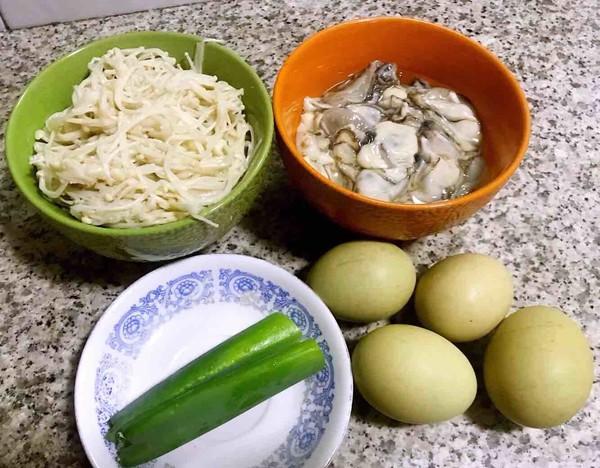 #早餐#牡蛎金针菇蛋饼的做法大全