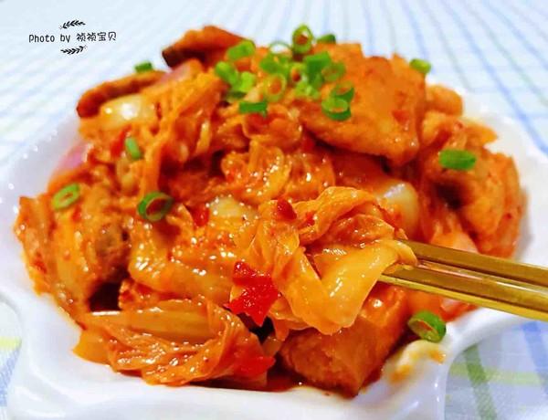 辣白菜炒五花肉怎样煮