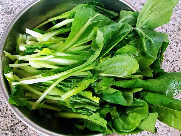 小白菜蚬子汤的做法大全