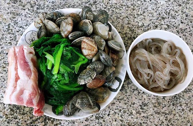 小白菜蚬子汤的家常做法