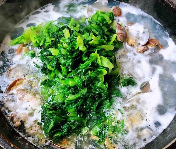 小白菜蚬子汤怎么煮