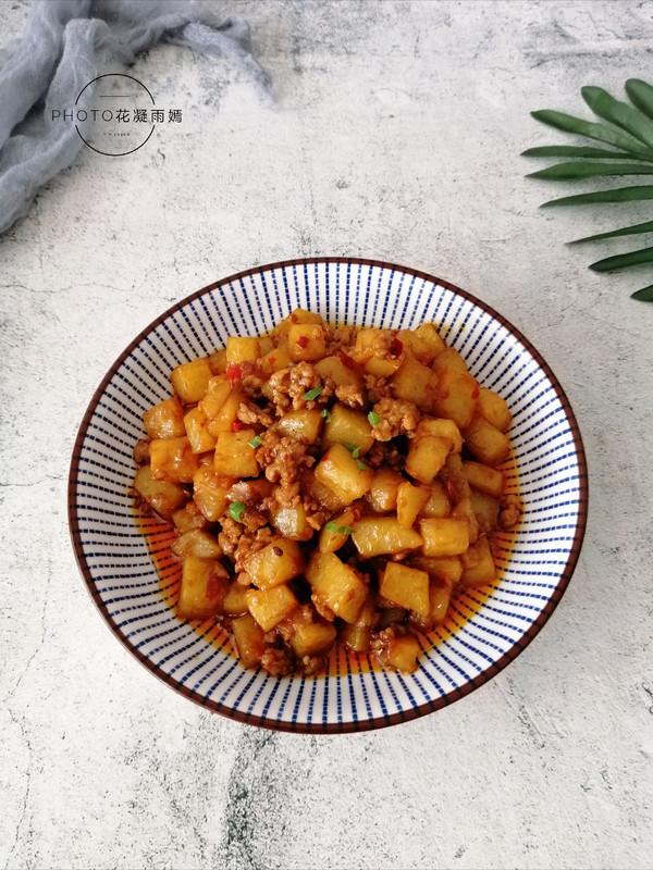 麻婆土豆成品图
