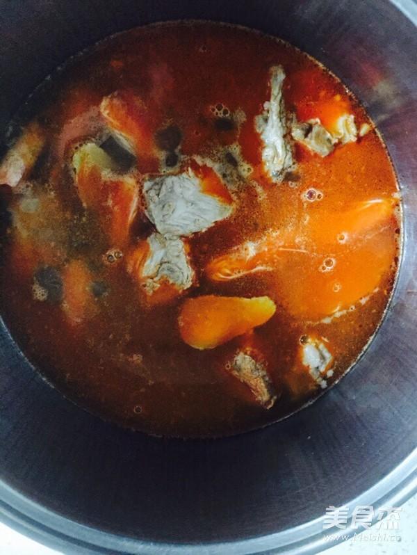 辣白菜炖锅的做法图解
