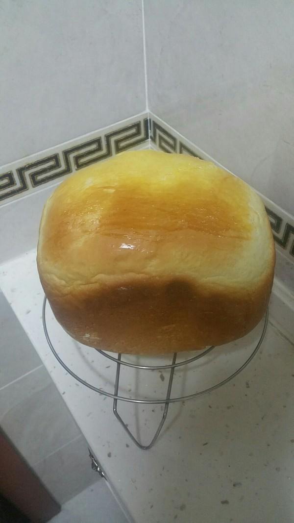 柔软香面包(面包机版)成品图