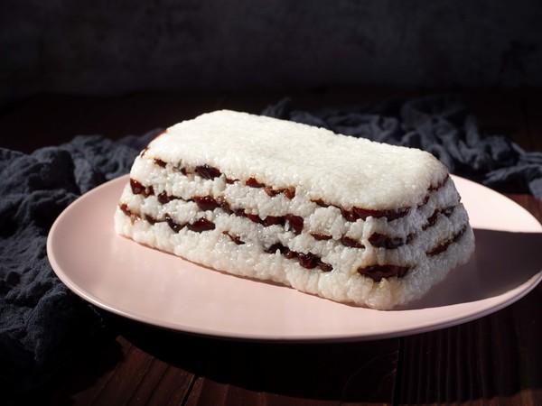 糯米红枣切糕成品图