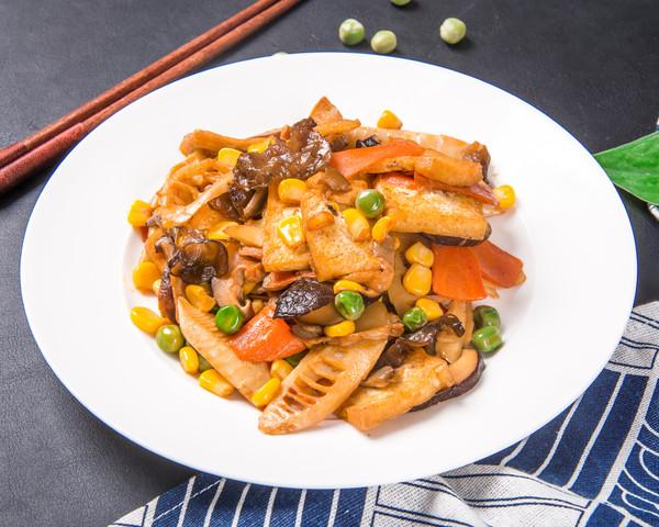 八珍豆腐成品圖