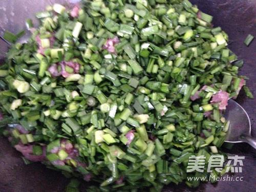 韭菜猪肉饺子的做法图解