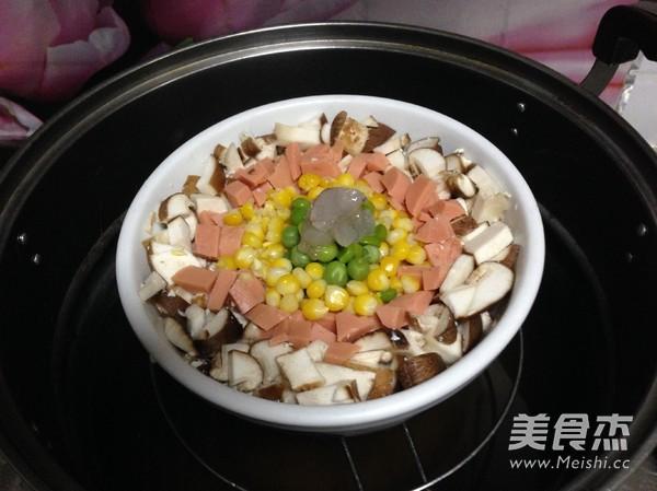 五彩豆腐羹怎样炒