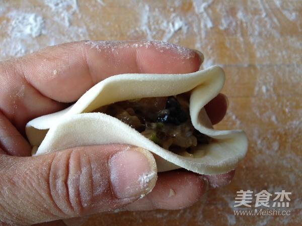 柳叶蒸饺的制作