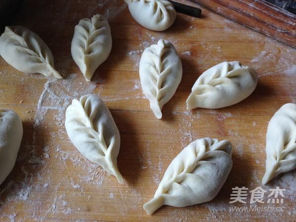柳叶蒸饺的制作大全
