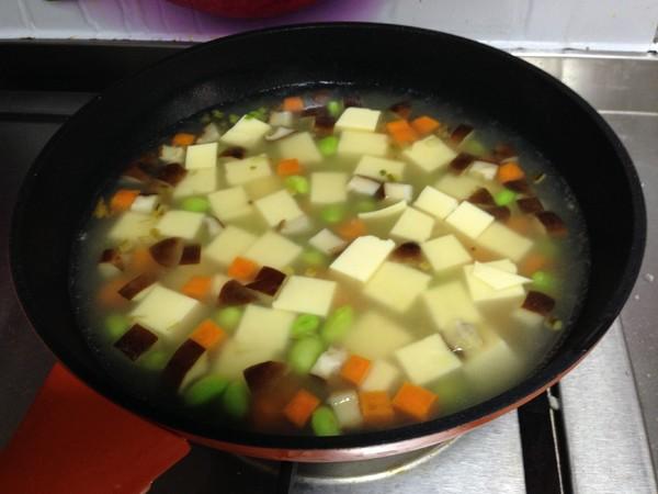 鸡蛋豆腐四鲜羹怎样煮