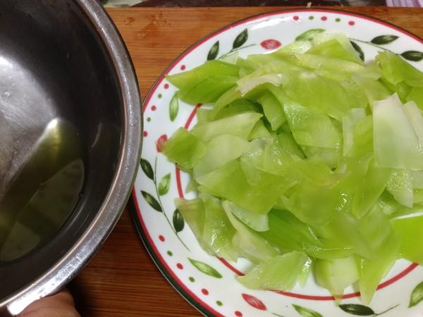 莴笋炒蛋的简单做法