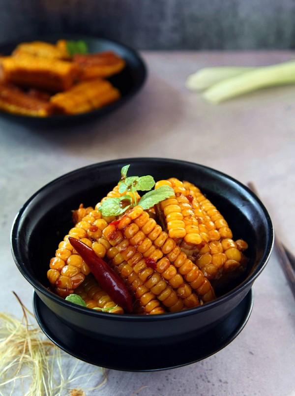麻辣玉米成品图