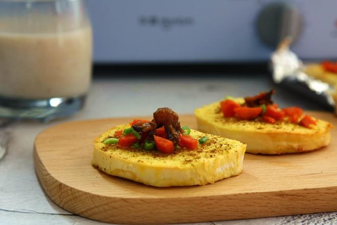 鸡蛋烤馍片成品图