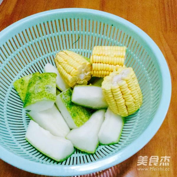 冬瓜玉米汤的做法图解