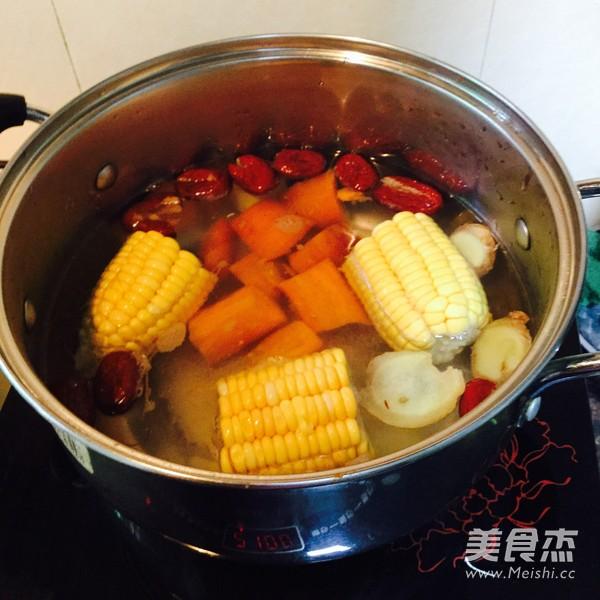 冬瓜玉米汤的简单做法