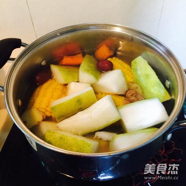 冬瓜玉米汤怎么吃