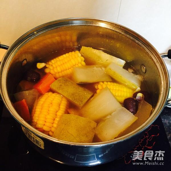 冬瓜玉米汤怎么做