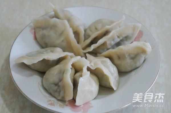 婆婆丁水饺成品图