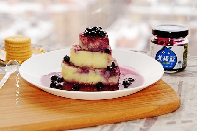 菊芋蓝莓土豆泥成品图