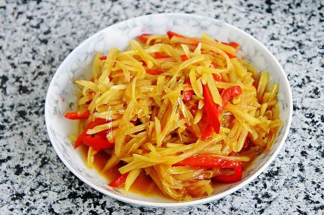 彩椒土豆丝成品图