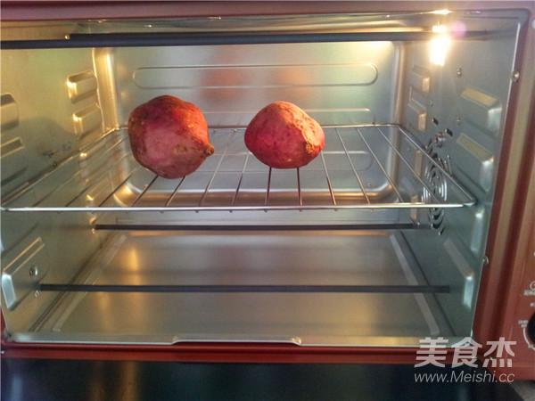 烤番薯的简单做法