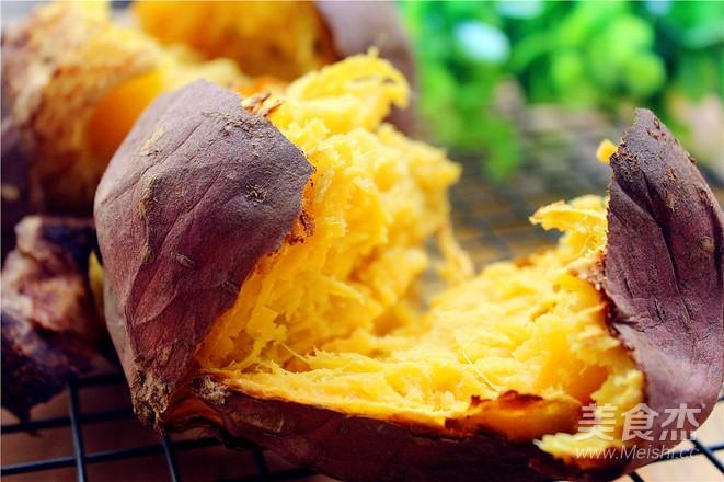 烤番薯怎么做