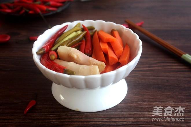 四川泡菜成品图