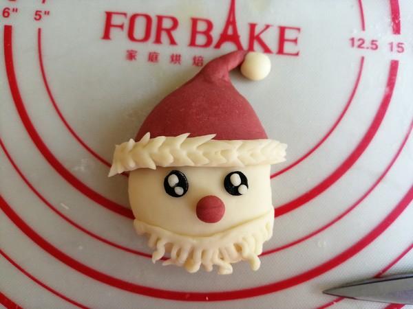 圣诞老人馒头怎样做