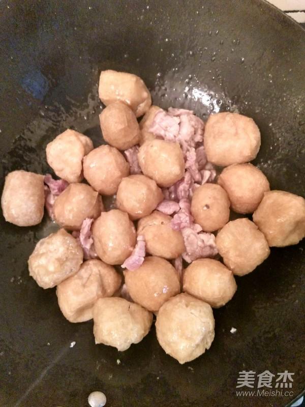 葱花豆腐泡的简单做法