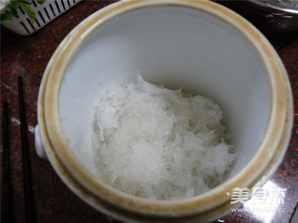 冰糖炖燕窝怎么做
