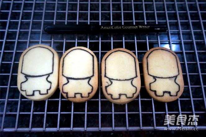 婚嫁糖霜饼干的制作方法