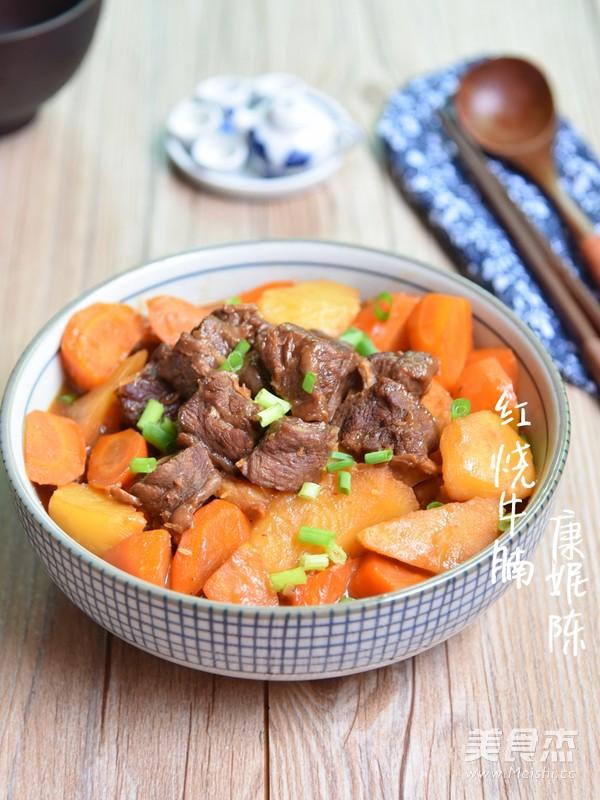 广东红烧牛腩成品图