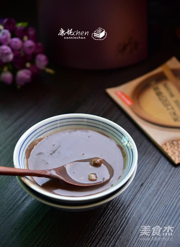 百合红豆沙成品图