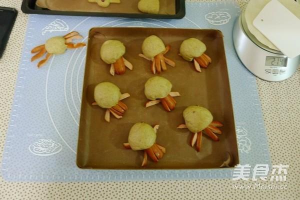 胡萝卜黑麦机车八爪鱼面包怎样做